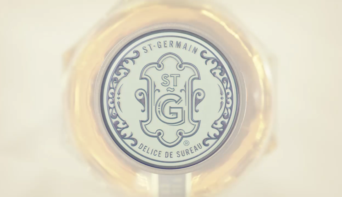 Liqueur St-Germain Film Cocktail